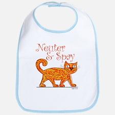 Neuter & Spay (Orange Cat) Bib