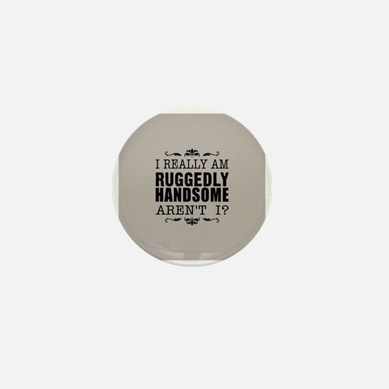 Kiki's Ruggedly Handsome Mini Button