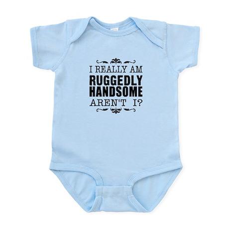 Kiki's Ruggedly Handsome Infant Bodysuit