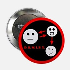 """Don't bother me I poison you - 2.25"""" Button"""