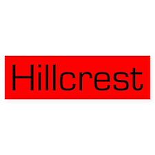 Hillcrest Bumper Bumper Sticker