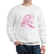Breast Cancer Believe Sweatshirt
