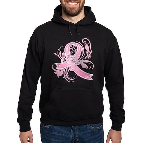 Breast Cancer Believe Hoodie (dark)