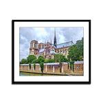 Notre-Dame Cathedral 2 Framed Panel Print