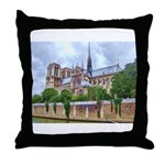 Notre-Dame Cathedral 2 Throw Pillow
