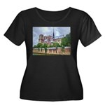 Notre-Dame Cathedral 2 Women's Plus Size Scoop Nec