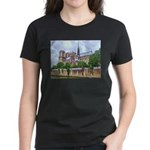 Notre-Dame Cathedral 2 Women's Dark T-Shirt
