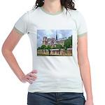 Notre-Dame Cathedral 2 Jr. Ringer T-Shirt