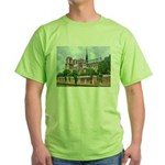 Notre-Dame Cathedral 2 Green T-Shirt