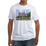 Notre-Dame Cathedral 2 Fitted T-Shirt