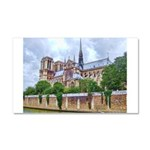 Notre-Dame Cathedral 2 Car Magnet 20 x 12