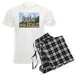 Notre-Dame Cathedral 2 Men's Light Pajamas