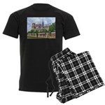 Notre-Dame Cathedral 2 Men's Dark Pajamas