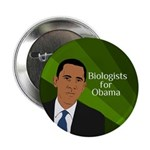 Biologists for Obama campaign button