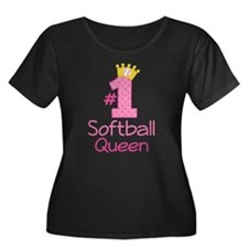 Number One Softball Queen T