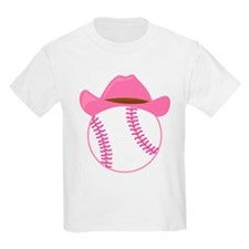 Softball Cowgirl Gift T-Shirt