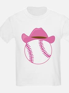 Softball Cowgirl Gift T-Shirt
