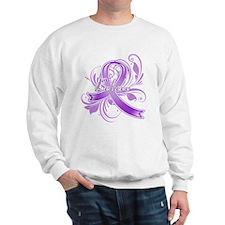 Pancreatic Cancer Believe Sweatshirt