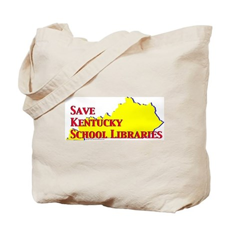 Save KY School Libraries Tote Bag