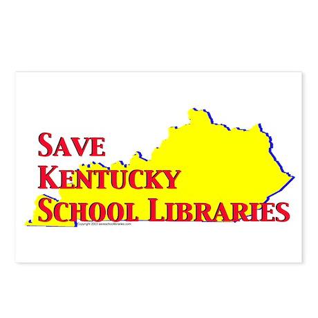 Save KY School Libraries Postcards (8)