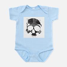 Watercolor Skull Infant Bodysuit