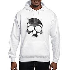 Watercolor Skull Hoodie Sweatshirt