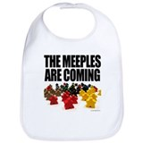 Meeple Cotton Bibs