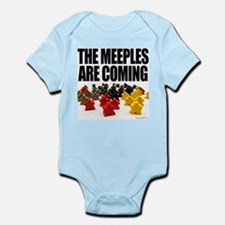 Meeples are Coming Infant Creeper