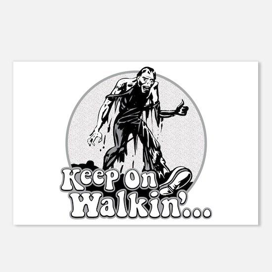 Keep On Walkin' Postcards (Package of 8)