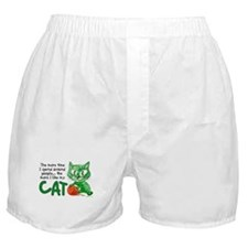 More Time (Cat) Boxer Shorts
