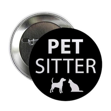 Pet Sitter Button (10 pack)