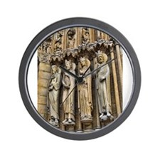 4 Kings Notre-Dame Cathedral Wall Clock