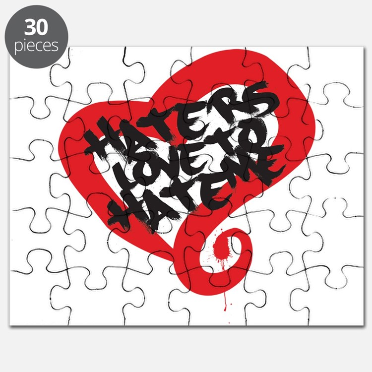 Haters Love Me Puzzle