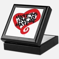 Haters Love Me Keepsake Box