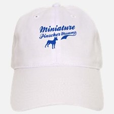 Miniature Pinscher Mommy Baseball Baseball Cap