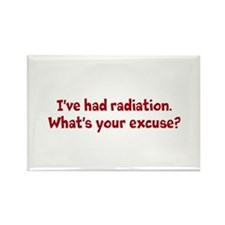I've taken radiation.... Rectangle Magnet