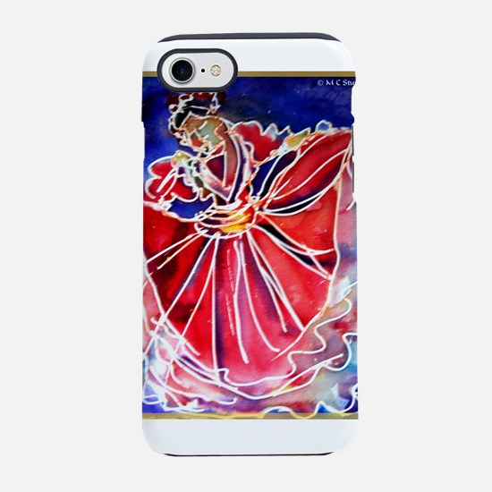 Fiesta! Colorful, Dancer! iPhone 7 Tough Case