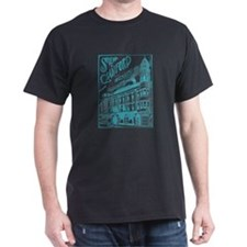 Opera House Block Illustration T-Shirt