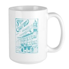Opera House Block Illustration Mug
