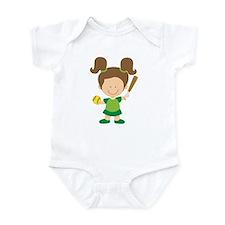 Softball Girl Gift Infant Bodysuit