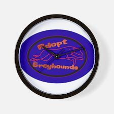More Greyhound Logos Wall Clock
