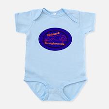 More Greyhound Logos Infant Bodysuit