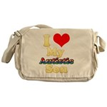 I Love My Autistic Son Messenger Bag