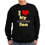 I Love My Autistic Son Sweatshirt (dark)