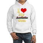 I Love My Autistic Son Hooded Sweatshirt