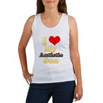 I Love My Autistic Son Women's Tank Top
