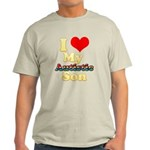 I Love My Autistic Son Light T-Shirt