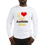 I Love My Autistic Son Long Sleeve T-Shirt