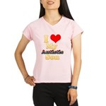 I Love My Autistic Son Performance Dry T-Shirt