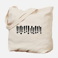 Exclamations Tote Bag